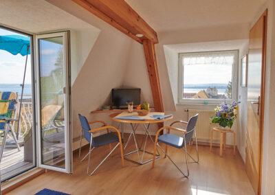 Wohnung mit kleinem Balkon